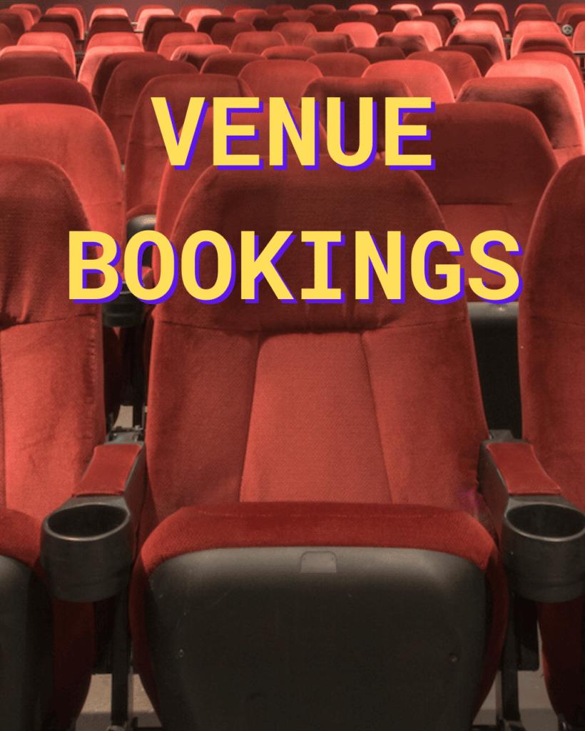 Venue Bookings